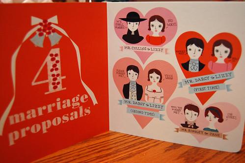 Little Miss Austen 4 Marriage Proposals