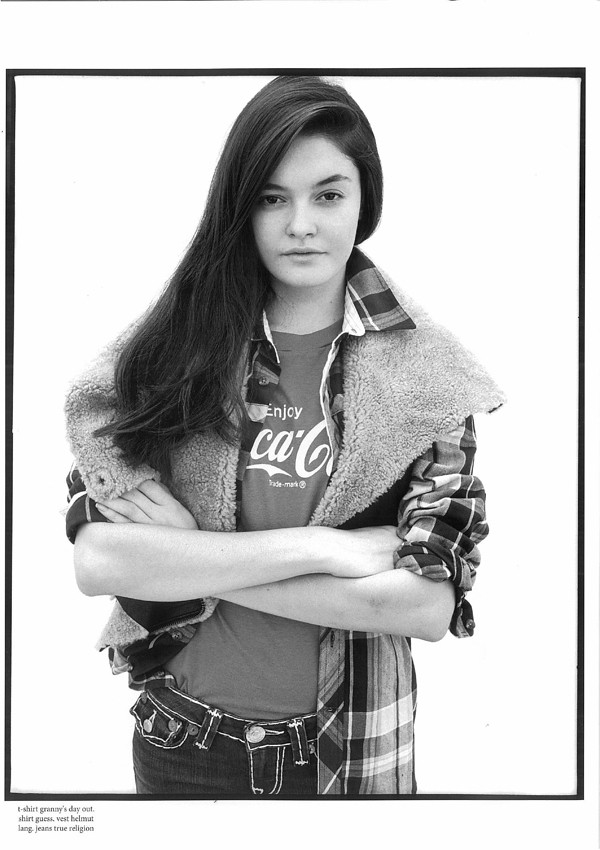 1980s Coke Tee featured in Alexis Magazine, November 2011