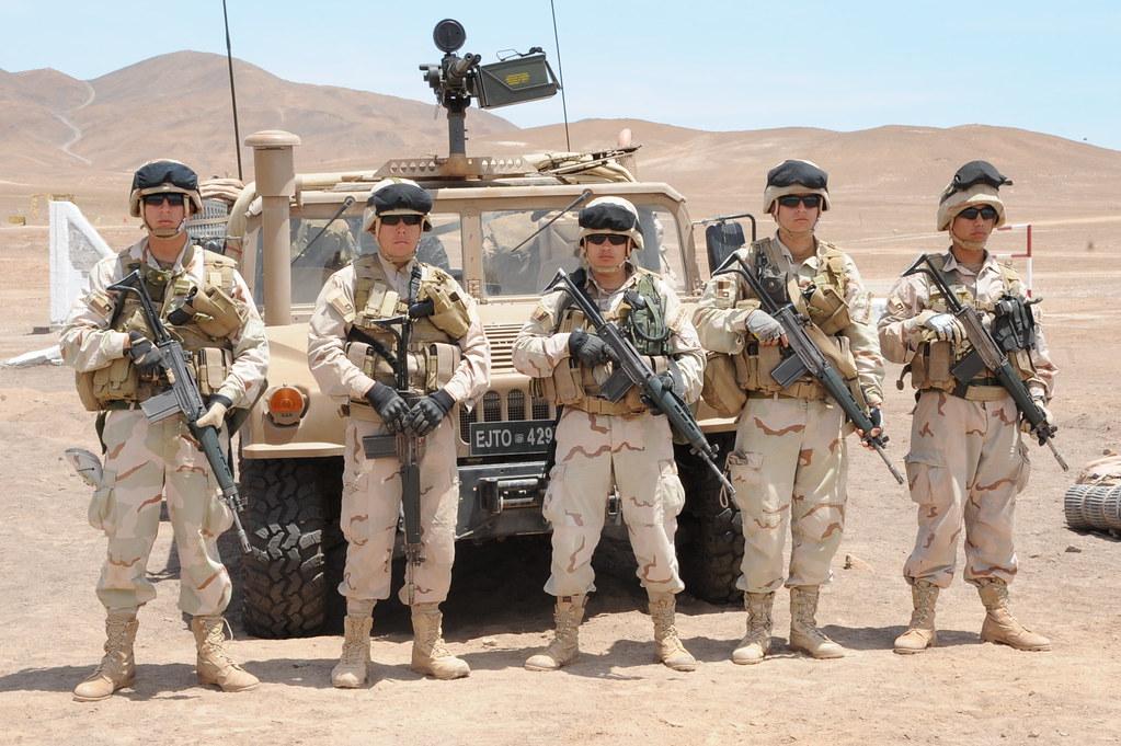 Armée Chilienne / Chile's armed forces / Fuerzas Armadas de Chile - Page 8 6350524277_12d7e61225_b