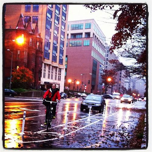 Rainy day on 15th St