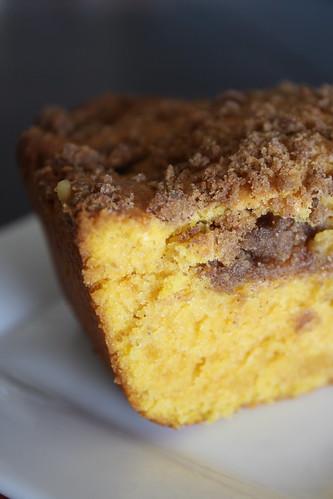 Pumpkin Sour Cream Coffee Cake Heather Christo