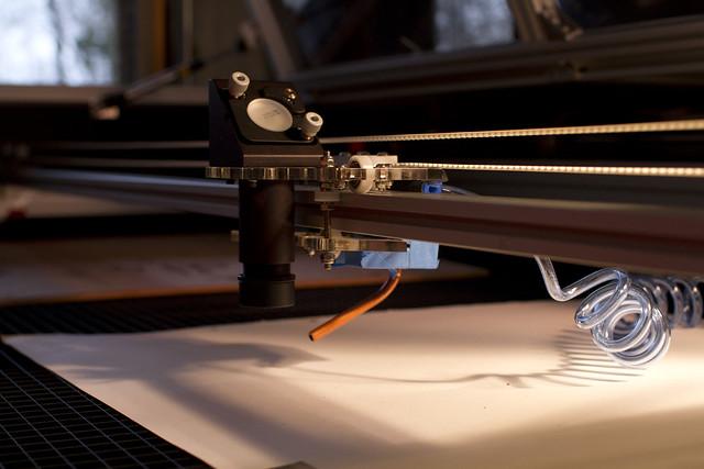 Lasersaur DIY Laser Cutter