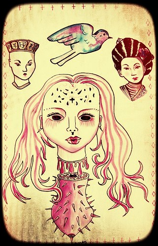 Chinese Spike Doll Card no 1.