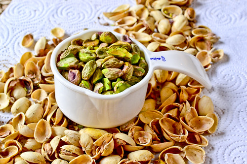 The funny thing about the pistachios is that I didn't realize I'd ...