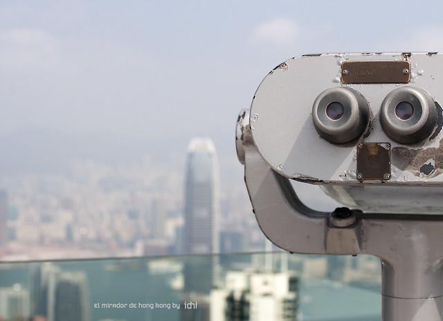 el mirador de Hong Kong