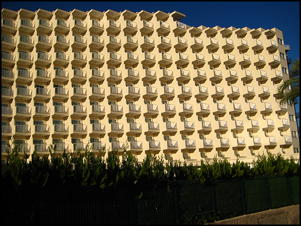 depressing hotel