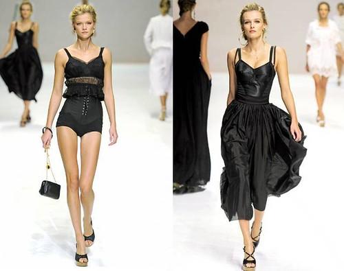 Kasia-Struss-Edita-Vilkeviciute-vestidos- negros-Dolce-Gabbana