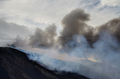 Schiena dell'Asino, Etna - Bad weather