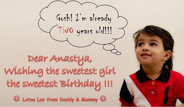 Anastya - Second Birthday