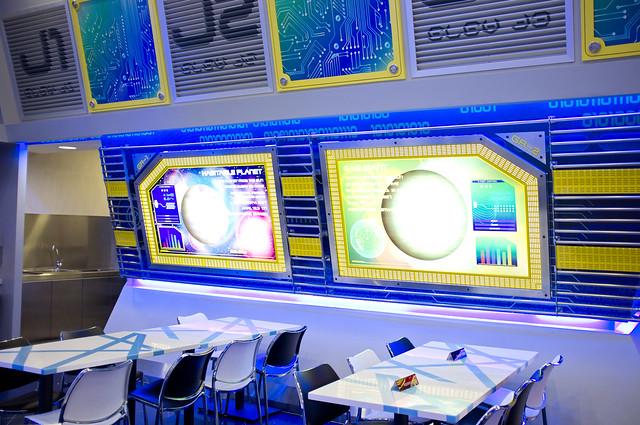 Starbot Cafe - Side Panels