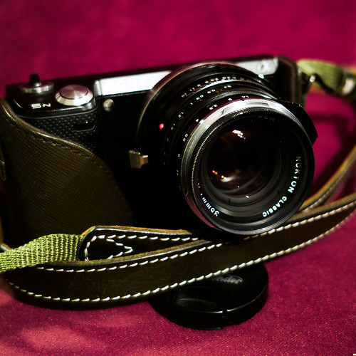 NEX-5N + HAWK'S FACTORY LM-E HELICOID ADOPTER