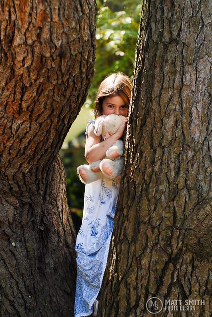 Hiding in Tree