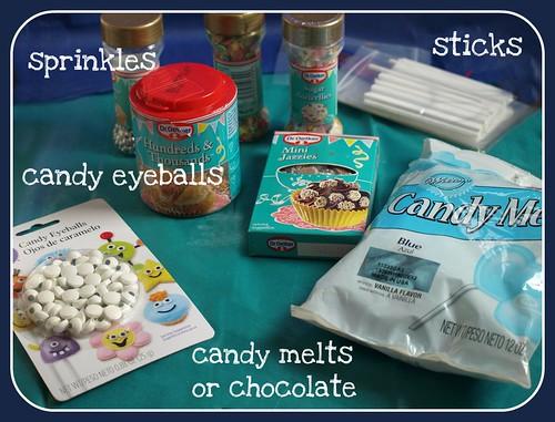 cake pops ingrediants
