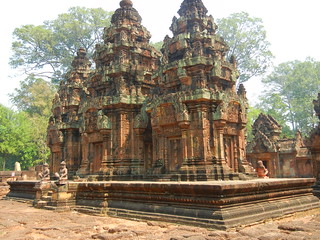 Banteay Srei Central Shrine