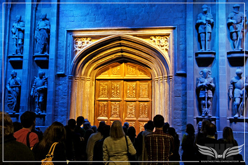 The Establishing Shot: The Making of Harry Potter Tour - The Great Hall Door by Craig Grobler