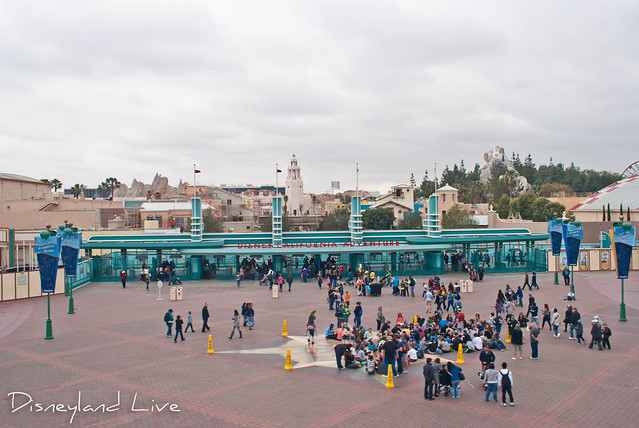 Buena Vista Street Construction Main Gate Overview