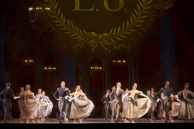 Artists of the Royal Ballet in Onegin © ROH / Bill Cooper 2010