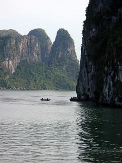 Limestone Peaks in Ha Long Bay