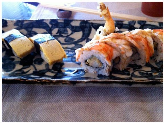 Sushi from Takumi - Plainpalais, Geneva