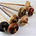 Small photo of Mini Top Whorl Drop Spindles
