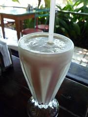 smoothie, horchata, drink, milkshake,