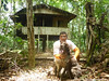 Carlos Orozco and Google looking for scat at La Selva Biological Station