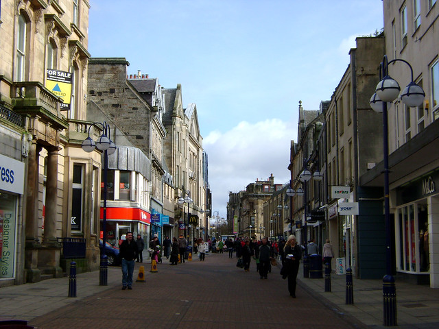 Dunfermline United Kingdom  City pictures : Scotland — Dunfermline, Fife 2 | High Street | By: dugspr — Home ...