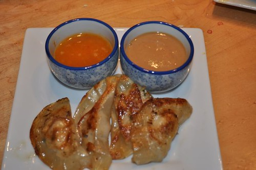 dumplings with pork, shrimp & mushrooms 18