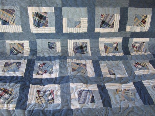 """Up Cycled"" Denim Quilt"