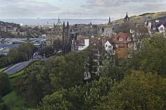 Ramsay Gardens from Edinburgh Castle
