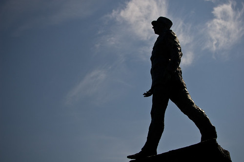 La estatua de Charles de Gaulle