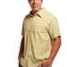 Cariloha Men's Button-Front-Gingham