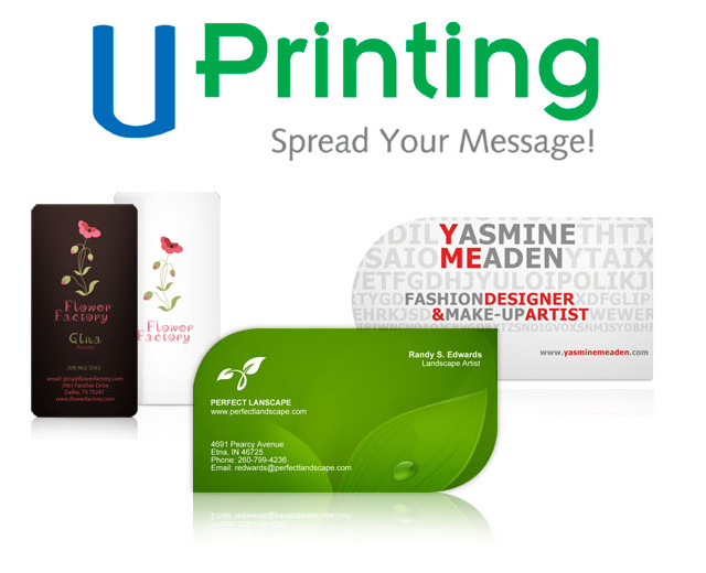 Closed giveaway 250 business cards from uprintingcom for Uprinting business cards