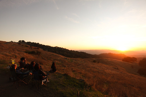 Sunset from Mount Diablo