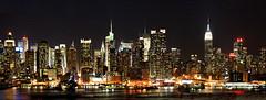 New York City - Midtown Manhattan Skyline from Hamilton Park