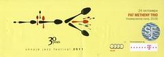 Pat Metheny Trio @ Skopje Jazz Festival, MACEDONIA