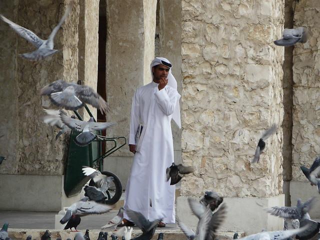 Hombre en Doha (Qatar)