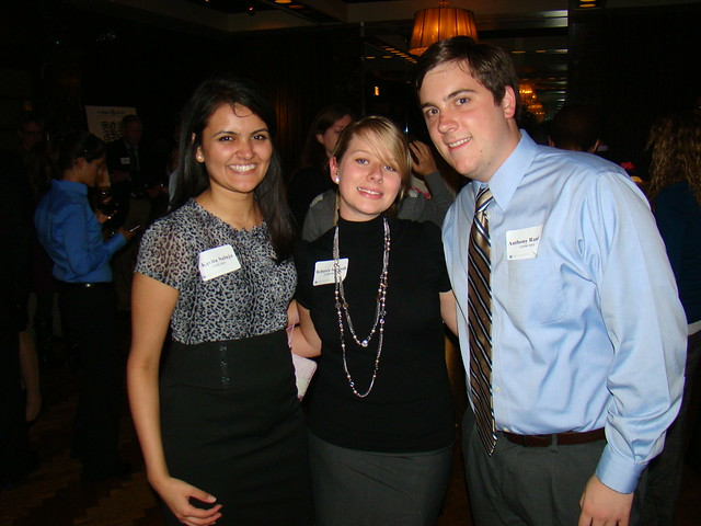 Ledger & Quill Recent Alumni Reception at the Paris Club