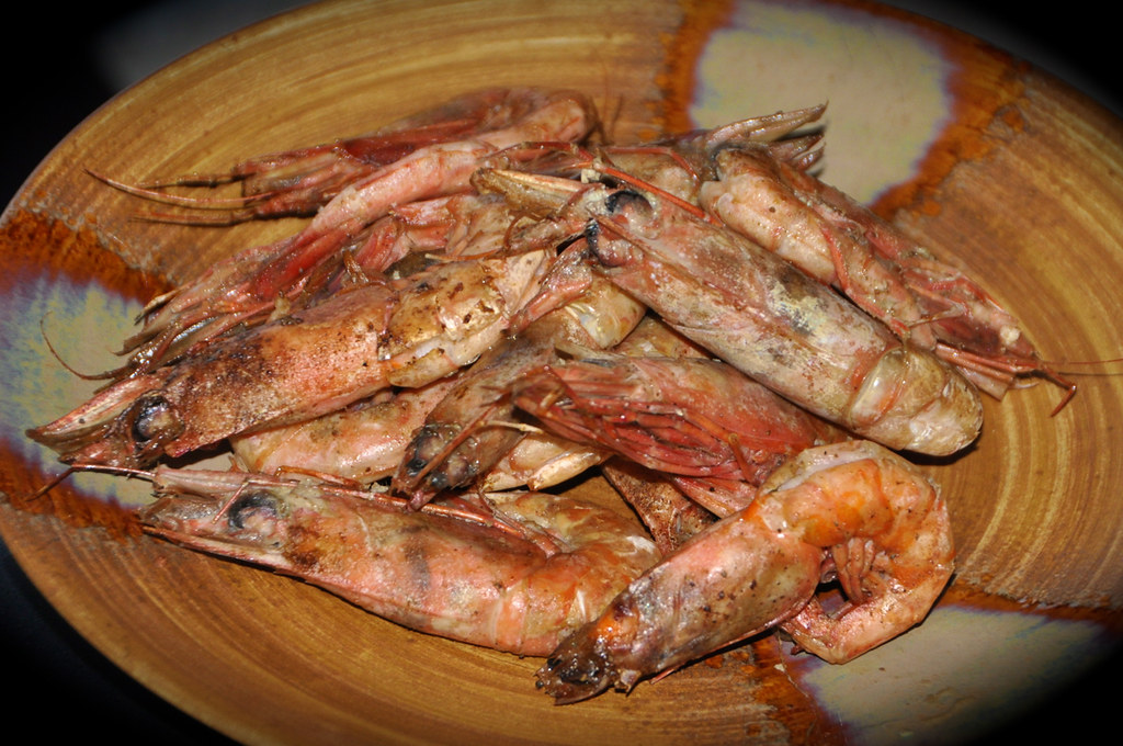 Roasted Royal Red Shrimp