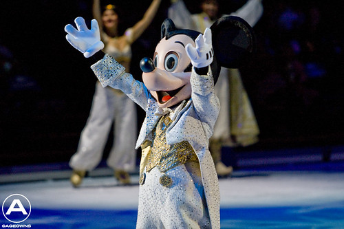 Glitter and Gold Mickey