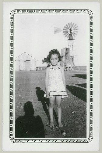 Little Girl with Windmill