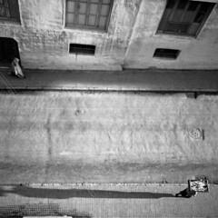 Tangier Street, 1952, by Robert Rauschenberg