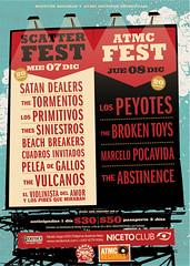 Poster: scatter fest / atmc fest