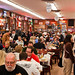 mad crowd at Katz's Deli by Matt Biddulph