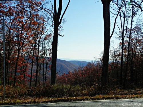 autumn mountains fall georgia fortmountain overlooks murraycounty nov112011