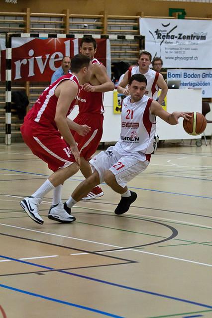 Swiss Central Basket - STB Bern Giants (12.11.2011 ...