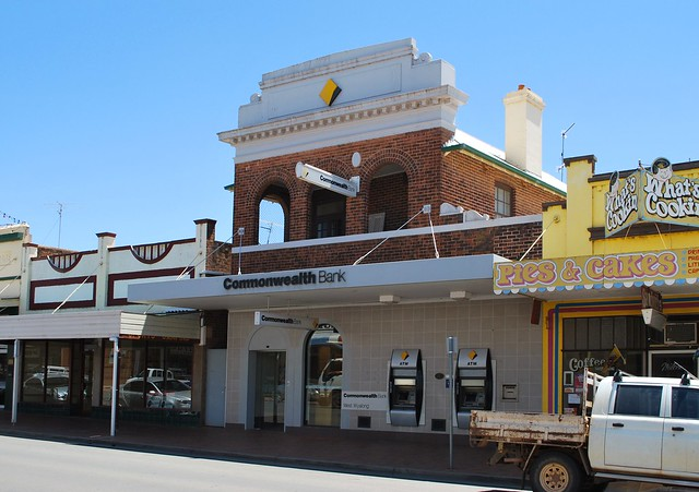 West Wyalong Australia  city pictures gallery : Commonwealth Bank, West Wyalong | Flickr Photo Sharing!