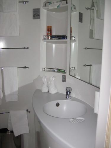 Our bathroom sink.