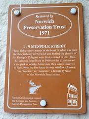 Photo of Brown plaque № 8106