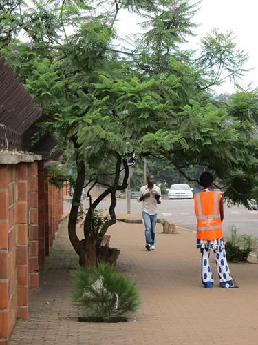 street cleaner kigali rwanda by Danalynn C